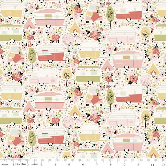 Joy In The Journey Main Cream, C10680-CREAM, By Dani Mogstad, for Riley Blake, sold by the 1/2 yard or the yard