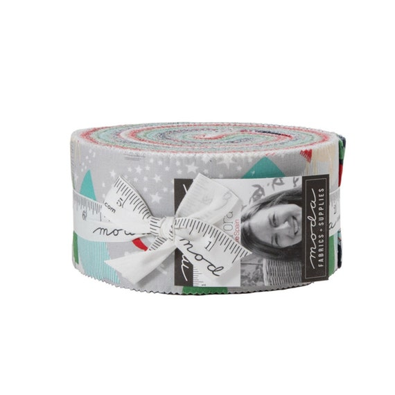 Aurora - Jelly Roll- Precuts- (40 pcs) by Kate Spain for Moda
