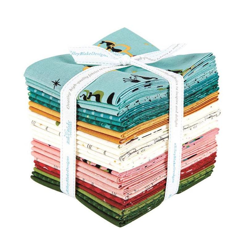 Mod Meow Fat Quarter Bundle By Amanda Niederhauser for Riley Blake