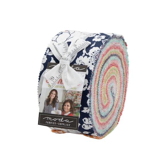 Shine On, Precut fabric, Jelly Roll, By Bonnie and Camille, 55210JR, Moda- Precuts