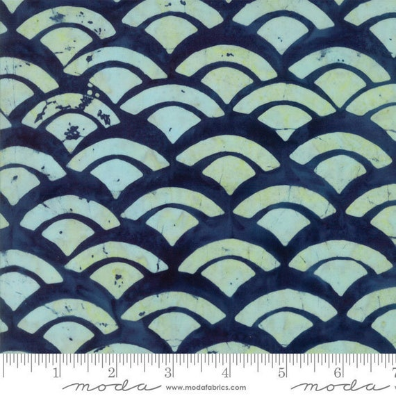 Sunday Drive Midnight Cloud- Moda Batiks, sold by the 1/2 Yard - Cut Continuously