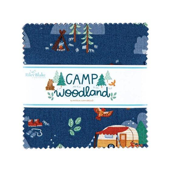 "Camp Woodland 5"" Stacker,  5-10460-42, By Natàlia Juan Abelló, for Riley Blake Designs"