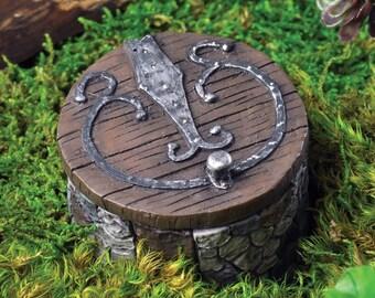 Miniature Gnome or Fairy Hatch