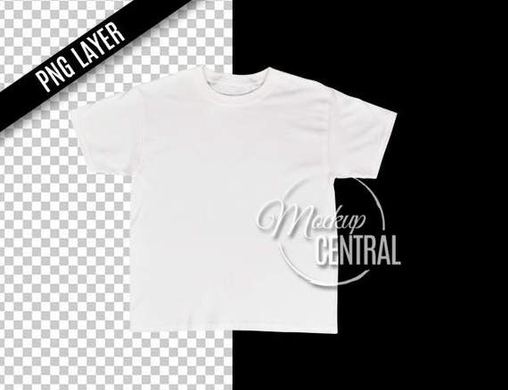 Transparent Png Blank White T-Shirt Apparel Mockup Fashion Design