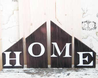 Copper home decor, Shelf decor, Home sign, Self standing sign, Rustic home decor, Reclaimed wood sign, Home sweet home, Farmhouse home decor for sale  Delivered anywhere in Canada