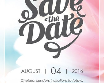 Save the Date A6 Cards