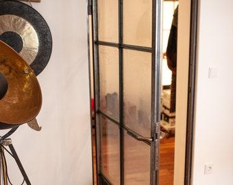 INDUSTRY DOOR GLASS TÜR ROOM DOOR Loft door Workshop door Steelworks Metal Door Vintage