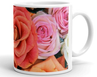Roses Bouquet- Novelty Mug