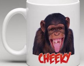 Cheeky Monkey -Novelty mug