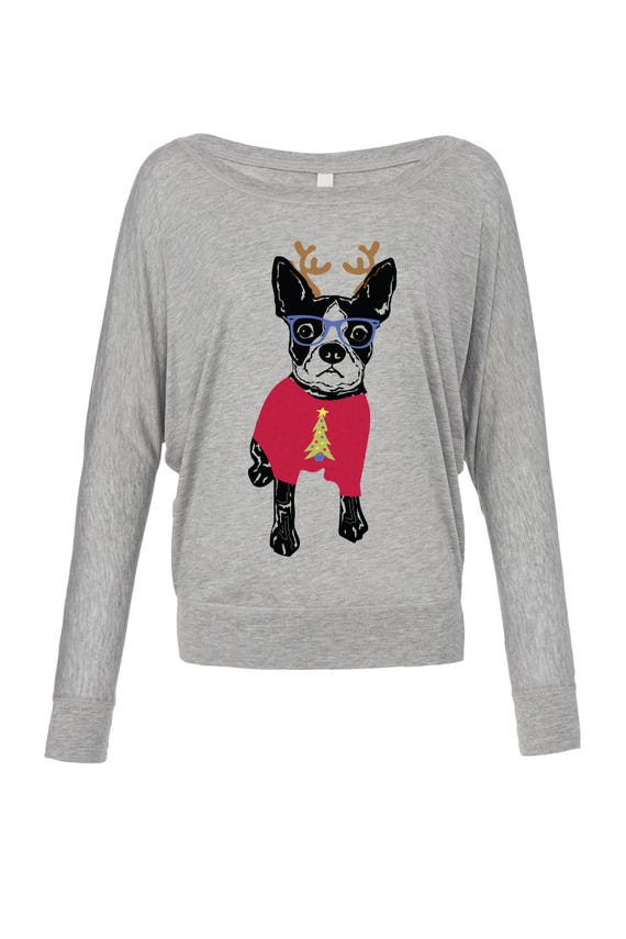 YourBreed Clothing Company German Shepherd White Embroidered Ladies V-Neck Sweater