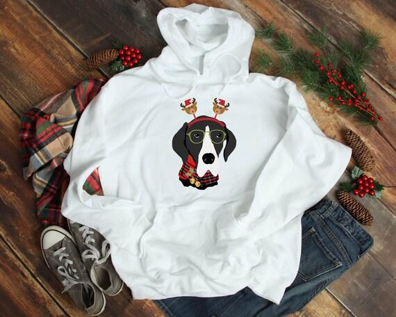 Great Dane Christmas Sweatshirt Festive Christmas Sweater | Etsy