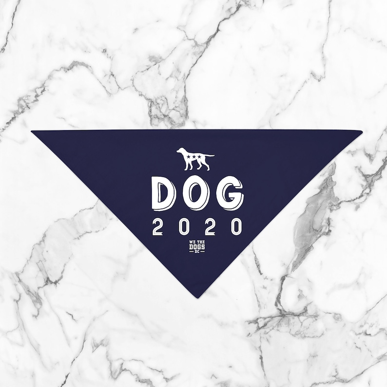 WE THE DOGS D C  5 Colors 4 Sizes Dog 2020 Patriotic Vote image 0