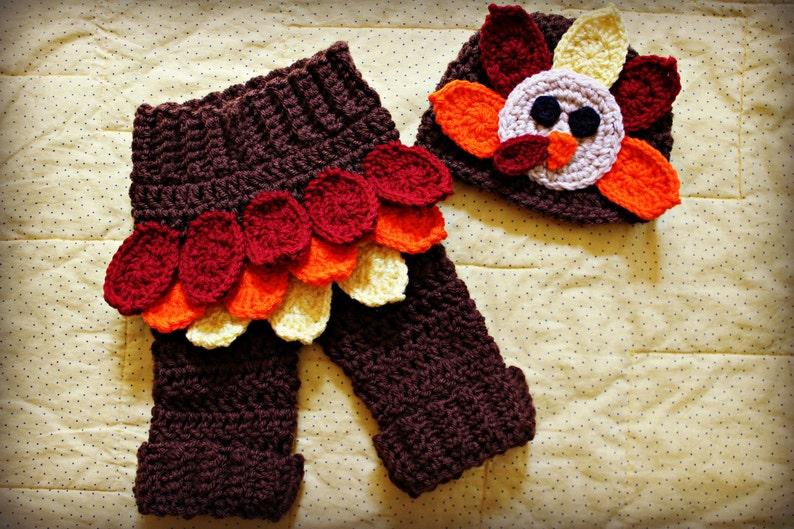 e45a16dbcdd Crochet Turkey Baby Photo Prop Baby Turkey Hat Turkey Hat