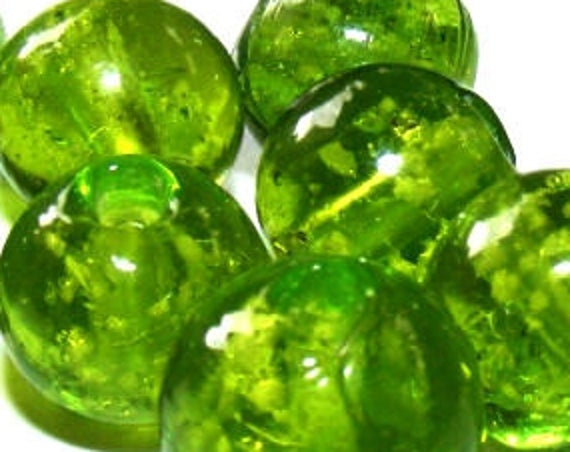 10 perles luminous [yellowgreen] 10mm