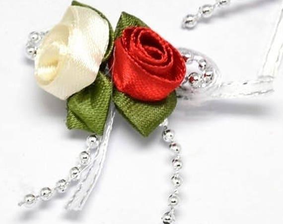 Bouquet de roses 24x63 mm