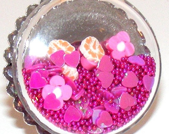 Bague globe [Bouquet of flowers]