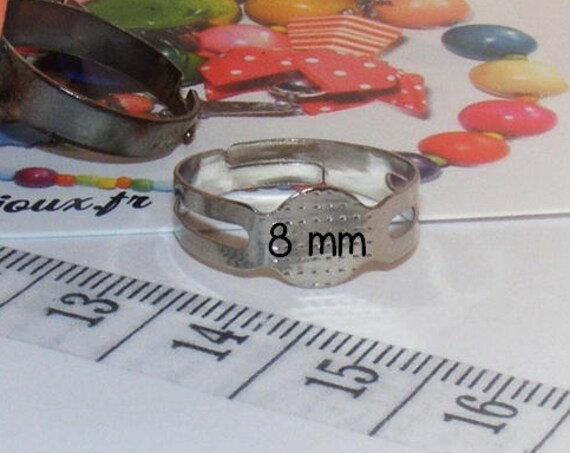 Support de bague 8 mm [Pad ring base]