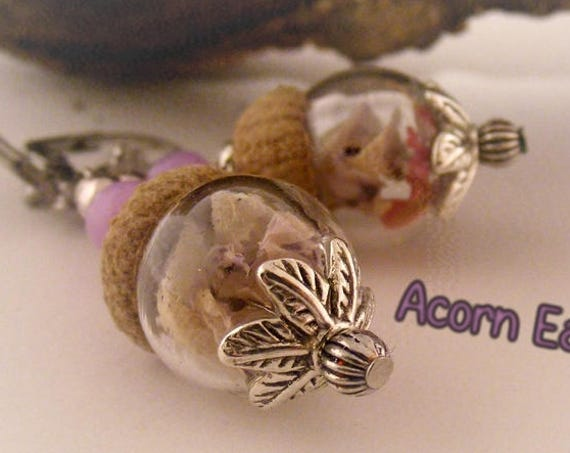 Boucles d'oreilles [Acorn Earrings]