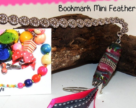 Marque-pages [Bookmark mini feather]
