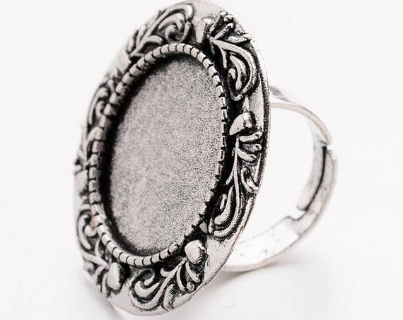 Support de bague 20 mm [Vintage leaf]