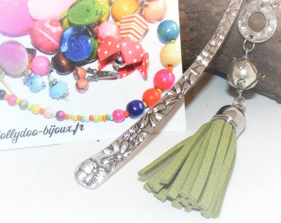 Marque-pages [Green tassel bookmark]