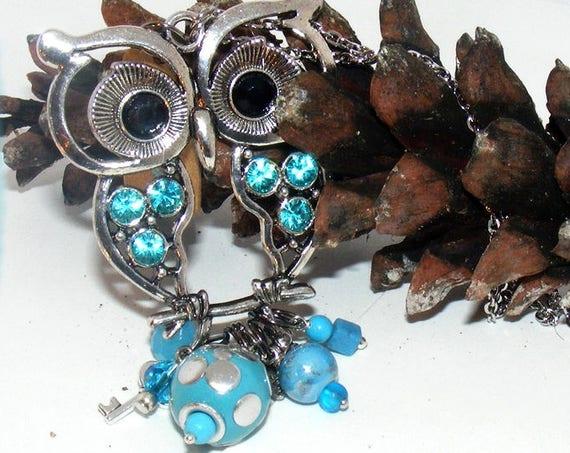 Sautoir chaîne [Blue Owl]