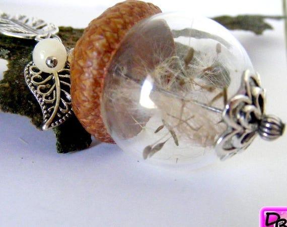 Sautoir globe [acorn]