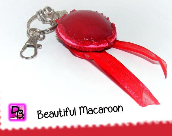 Bijou de sac OU porte-clés [Beautiful macaroon]