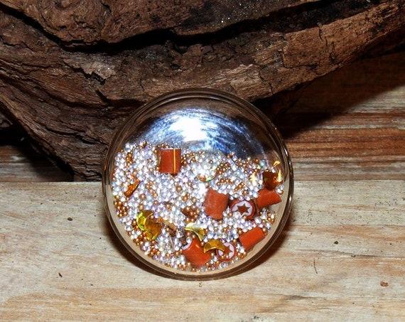 Bague globe plat 25 mm