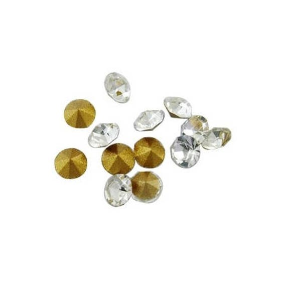 10 Strass Diamant 3mm [Clear]