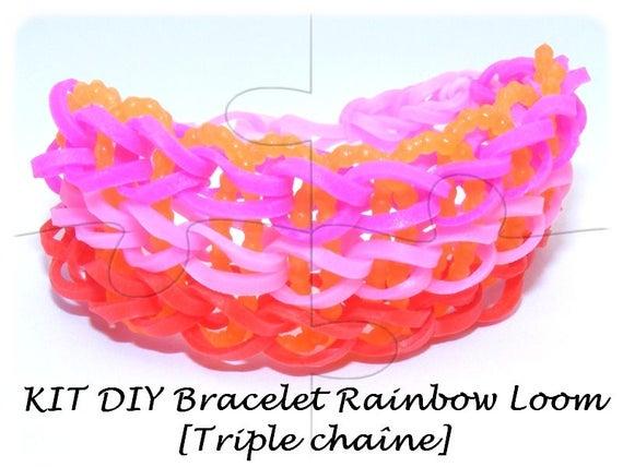 """Kit Enfant """"DIY"""" bracelet [Triple chaîne]"""