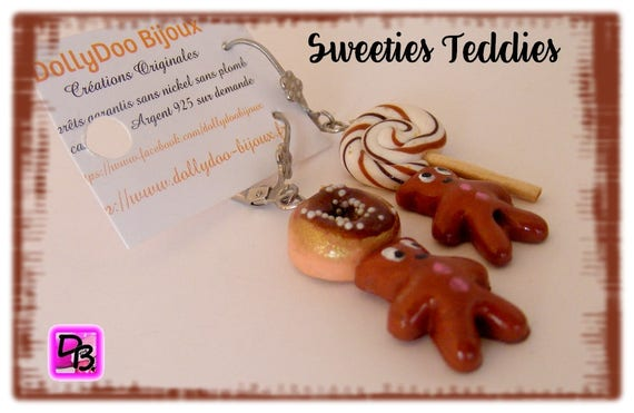 Boucles d'oreilles [Sweeties Teddies]