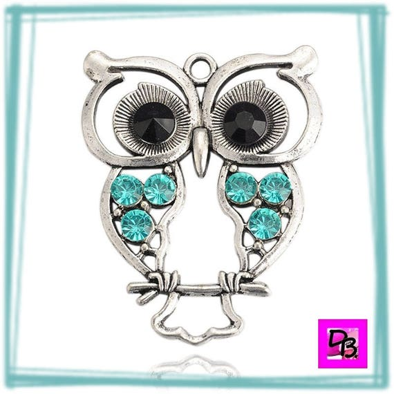 Grand Hibou Aquamarine
