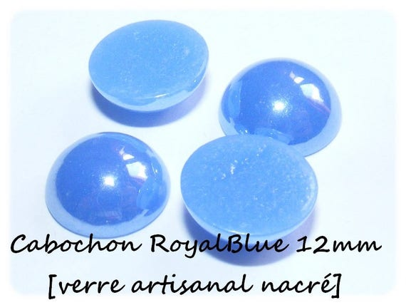 1 Cabochon 12 mm [RoyalBlue]