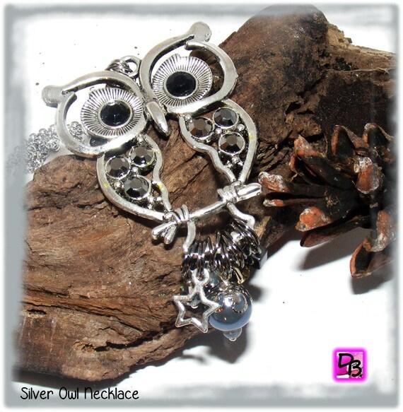 Sautoir chaîne [Silver Owl]