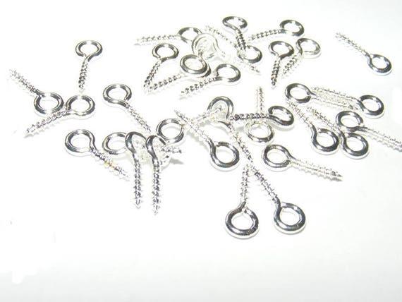 Screw-screw silver 10mm x 50