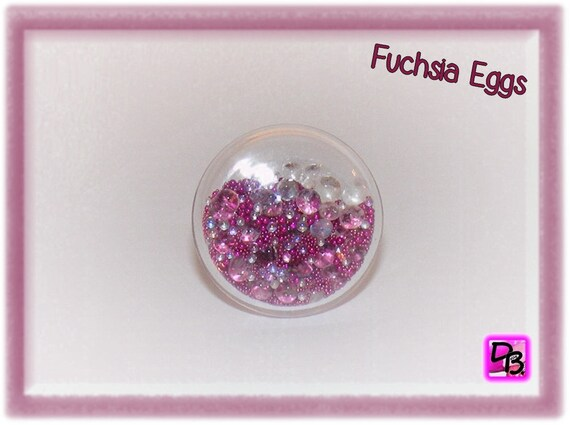 Bague globe [Fuchsia Eggs]