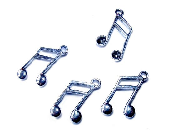 Double Note music silver 27mm x 1