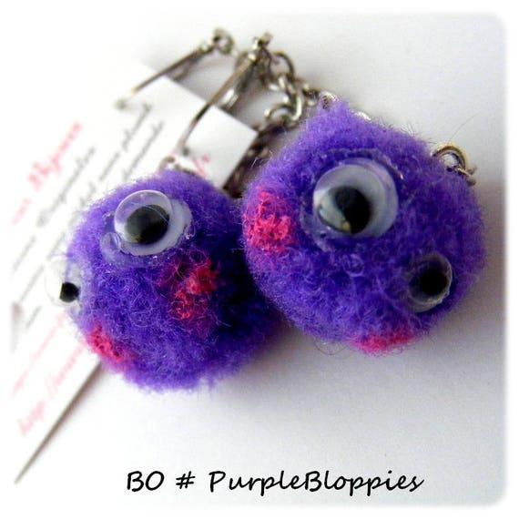 Boucles d'oreilles [Mini Bloppies]