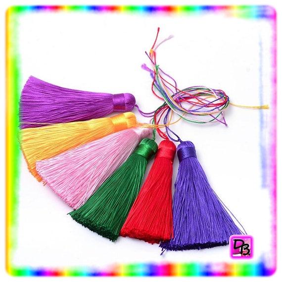Grand pompon coloris au choix