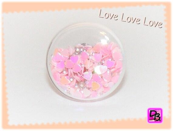 Bague globe [Love Love Love]