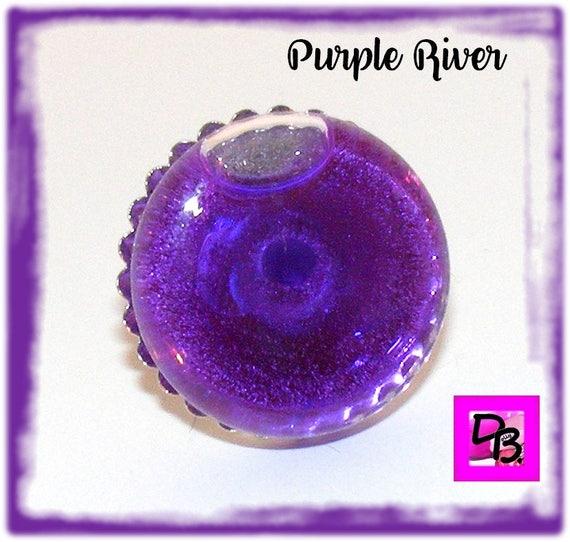 Bague globe [Purple River]