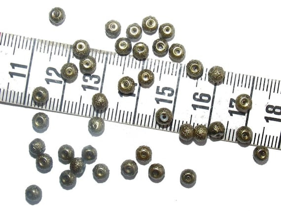 25 round Pearl 4mm speckled khaki