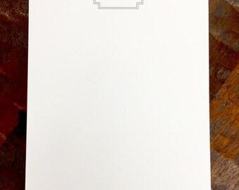 Classic Monogram Lux Notepads