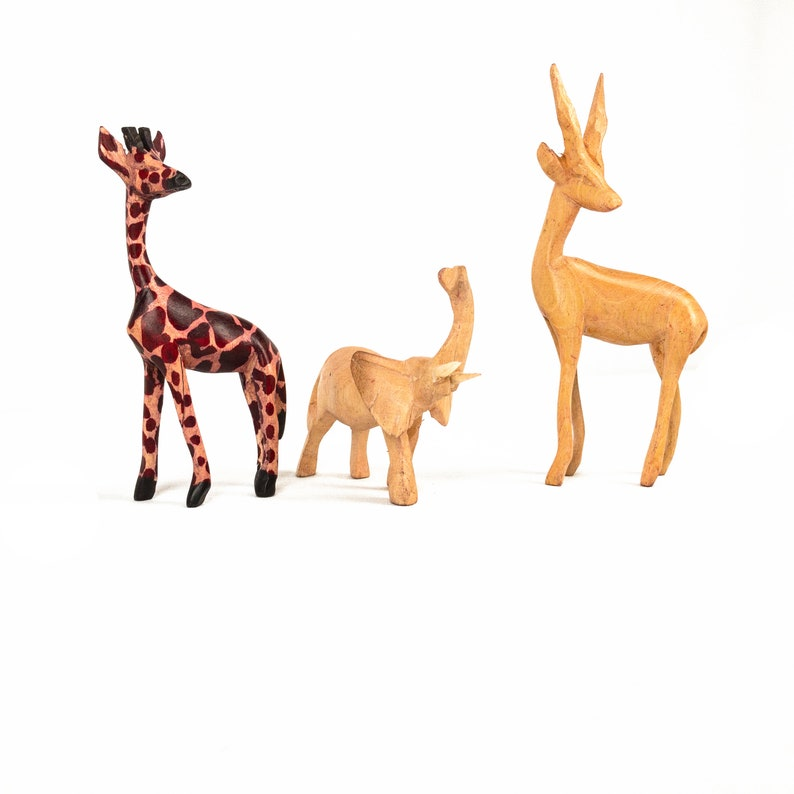 African Hand Crafted Animals image 3