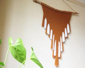 Large Handmade Macrame Wall Hanging - NEART