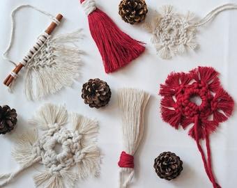 Macrame Christmas Decoration - Large