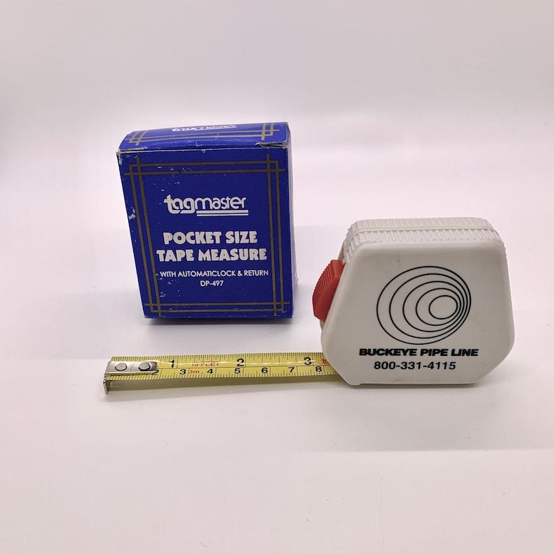 TagMaster Pocket Size Measuring Tape Buckeye Pipeline image 0