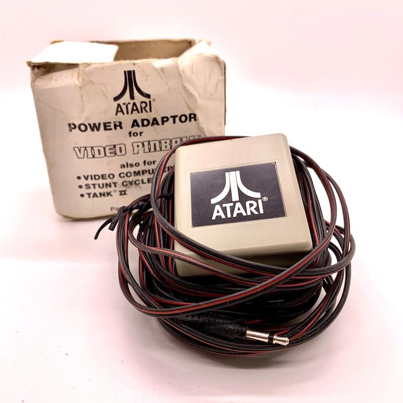 Vintage Atari Pinball Power Adaptor 15 Foot Cord Video image 0