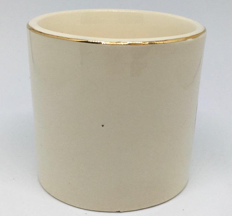 Washington DC Souvenir Mug the Capitol Building with Gold Trim Views of America Series by ENCO 22K Gold trimmed Small Mug